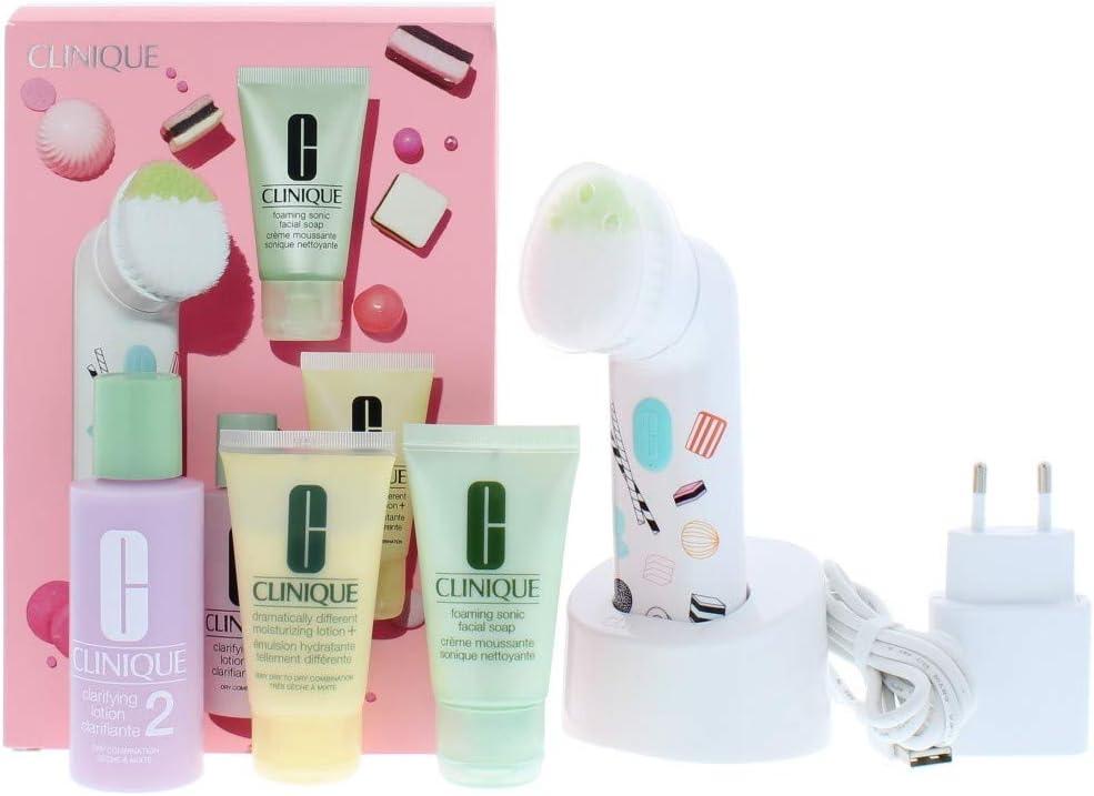 Clinique - Estuche de regalo cepillo de limpieza sonic: Amazon.es: Belleza