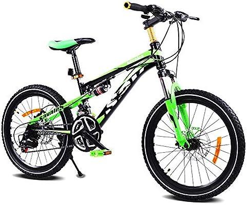 Unisexo 21 Velocidad Bicicleta de montaña de Doble suspensión 20 ...