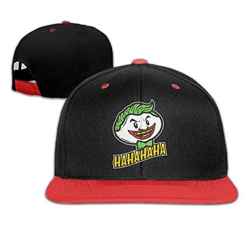 HAHAHAHA Joker Flat Snapback Hat Cap Men Women ( 5 Colors ) (Halloween Accessories Winnipeg)