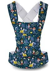 Beco Gemini bärsele - enkel 5-i-1 ryggsäck stil sele för att hålla spädbarn, spädbarn och barn från 3,2-15,9 kg certifierad ergonomisk