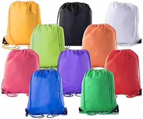 95470ced9e Mato & Hash Drawstring Bulk Bags Cinch Sacks Backpack Pull String Bags | 15  Colors