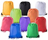 Mato & Hash Basic Drawstring Tote Cinch Sack Promotional Backpack Bag -...
