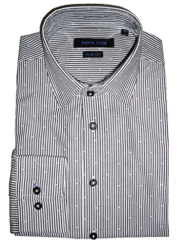 Andrew-Fezza-Mens-Striped-Dress-Shirt
