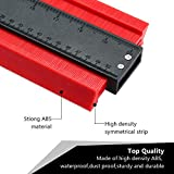 Holulo Contour Gauge Profile Gauge Shape Duplicator Precisely Copy Irregular Shapes For Woodworking Measuring Making Tools Perfect Fit and Easy Cutting