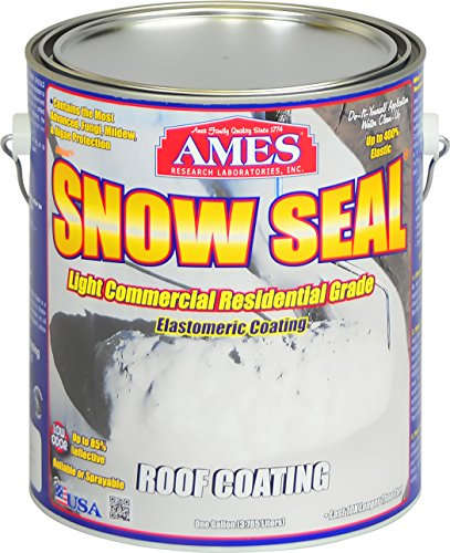 (Ames Snow Seal Gallon Roof Coating White)
