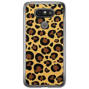 Loud Universe LG G5 Jaguar Print Transparent Edge Case - Multi Color