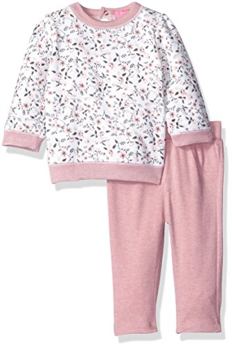 isaac-mizrahi-baby-girls-2pc-fleece-top-and-legging-set-pretty-pink-flowers-6-9-months