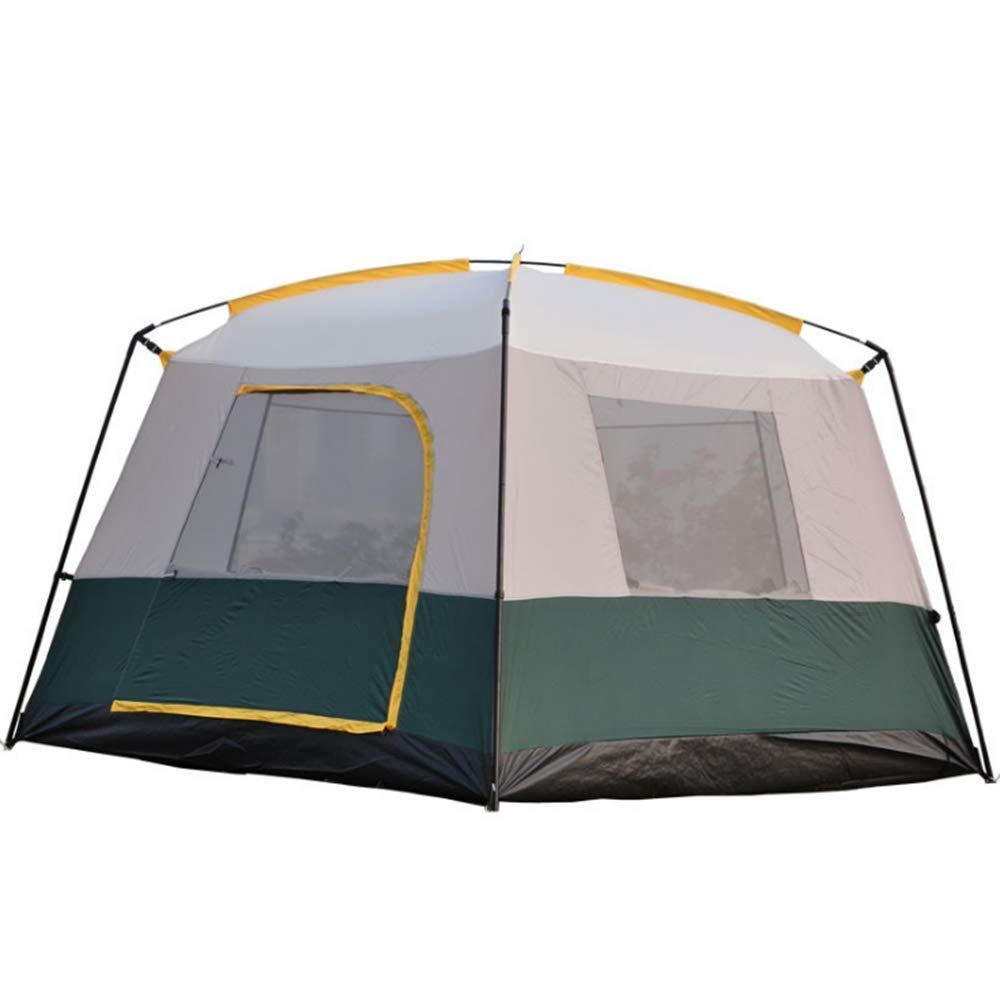 BBX Familienzelt mit Sonnendach 5000 mm Wassersäule Festival Camping Backpacking Trekking Wasserdichtes Outdoor-Kuppelzelt 4 Personen Winddichter Schnee-Schutz B07NXS2QMC Kuppelzelte Trend