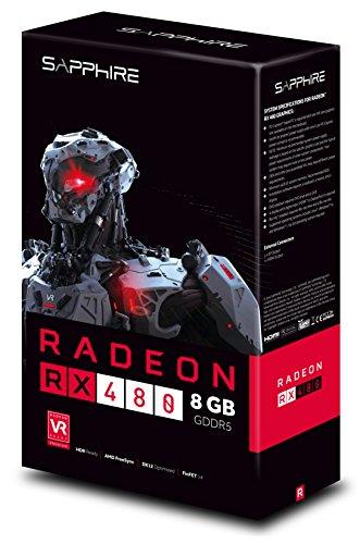 Sapphire 21260-00-20G Radeon RX 480 8GB GDDR5 - Tarjeta ...