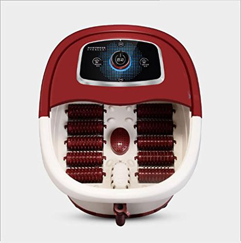 JU FU Foot tub Foot Spa Heated Bath & Massager, 3 Mode Settings Aromatherapy Diffuser, Vibration Bubble Massage with Hydrotherapy Jets @@ ()