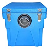Grease Trap Interceptor with Lid, 10 lbs Plastic