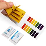160PCS of PH Range 1-14 Litmus Indicator Test Strips --- Great for testing many usual everyday substances, including moisturized soap, lemon juice, milk, liquid detergent, moisturized soil, saliva, urine, sweat...etc