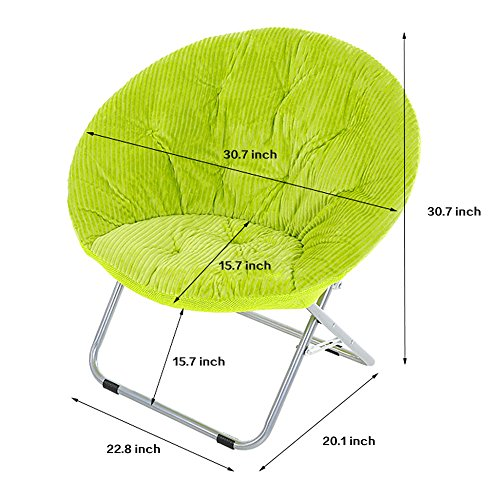 Groovy Genubi Saucer Chair Removable Cover Foldable Indoor Outdoor Forskolin Free Trial Chair Design Images Forskolin Free Trialorg