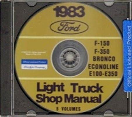COMPLETE 1983 FORD TRUCK, VAN & PICKUP REPAIR SHOP & SERVICE