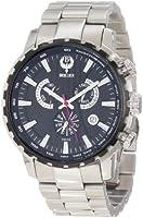 Brillier Men's 16-05 Endurer Stainless Steel Chronograph Swiss Quartz Watch from Brillier