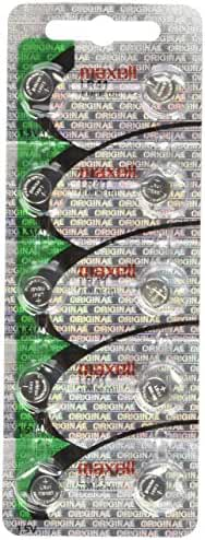 50 Pack Maxell LR41 AG3 192 button cell battery