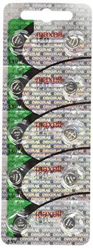 "50 Pack Maxell LR41 AG3 192 button cell battery ""NEW HOLOGRAM PACKAGE 0%Hg Mercury Free"" """