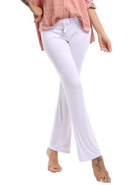 OCHENTA- Pantalones de Yoga para Mujer, para Danza del Vientre, Fitness, Entrenamiento