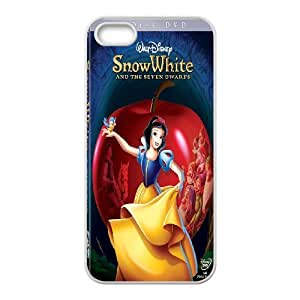 Disney fairy tale snow white and the seven dwarfs,snow white holding apple series durable cases For Iphone 4 4S case coverQBQI231715613