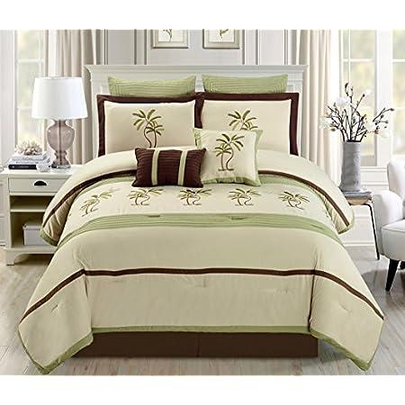 51jkjWfqxtL._SS450_ The Best Palm Tree Bedding and Comforter Sets