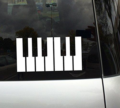 Audiophile #2 - Piano Keys - White 8