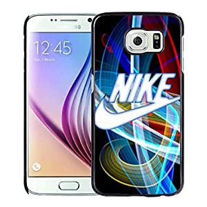 Fashion Designed Cover Case For Samsung Galaxy S6 With Nike 15 Black Phone Case