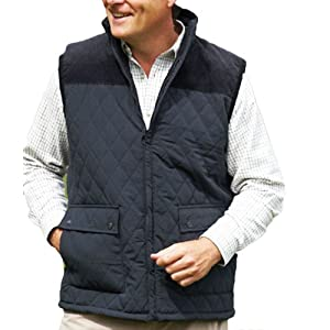 New Champion Country Estate gilet outdoor bodywarmer Diamond Quilted waistcoat Outerwear jacket fishing hunting shooting walking farming Olive L