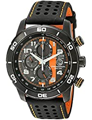 Citizen Mens Eco-Drive Primo Chronograph Sport Watch with Date, CA0467-11H