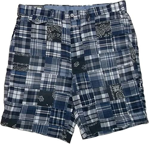 Plain Madras Front Short - RALPH LAUREN Polo Men's 9
