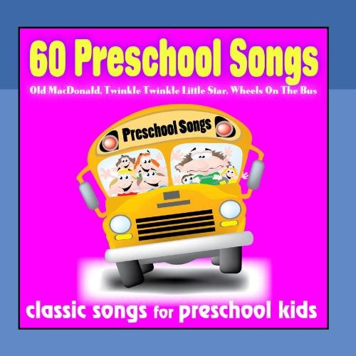 Preschool Cd - 60 Preschool Songs: Old Macdonald, Twinkle Twinkle Little Star, Wheels On the Bus