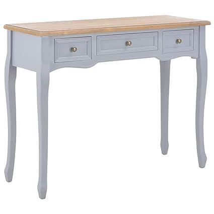 Salon Tables Vidaxl Bois Table De Console Et Coiffeuse Table