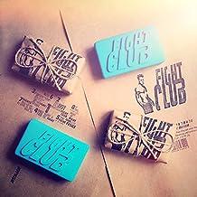 Fight Club Soap Original Shape Handmade by Project Mayhem - Novelty, Unisex, New, Blue, Mint