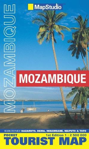 Mozambique Pocket Map 1:2,500,000- MapStudio