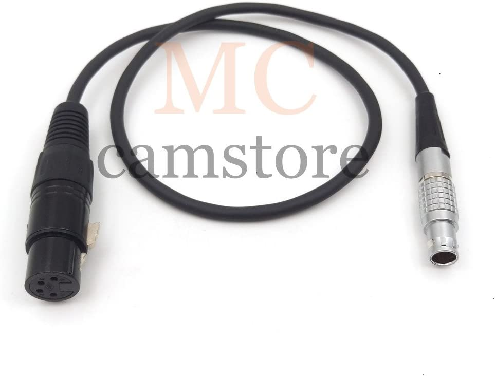 4+2 MCCAMSTORE 6pin Male to 4pin XLR Male Power Cable for DJI R2 to SONY F5//F55 24