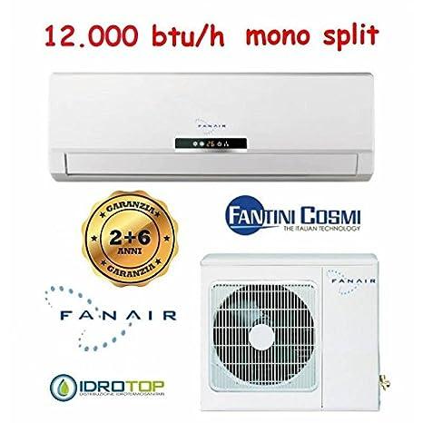 Climatizador Mono Split 12000 BTU/h Inverter Aire Acondicionado fanair-fantini Cosmi: Amazon.es: Hogar