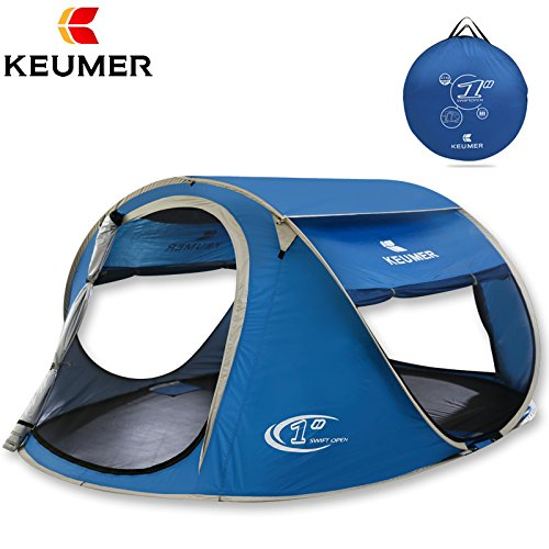 Keumer Pop Up 3 4 Person Big Tent For Sale 1 Second Auto