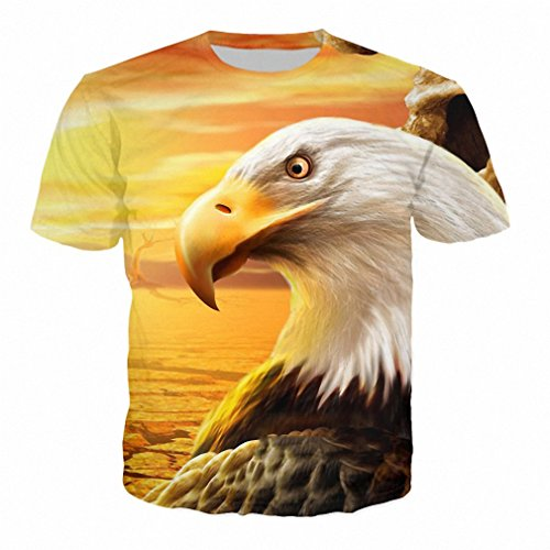 [3D Full Over Print T Shirt Summer Colorful Unisex Tee Galaxy Funny Top Shirt Men's Casual T Shirt 8 US XXS] (Crop Over Band Costumes)