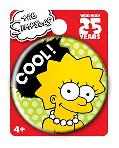 Simpsons The Lisa Single Button Pin Action - Simpsons Pins