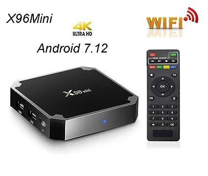 Android TV Box,Smart TV Box Amlogic S905W Quad Core Media Box 1GB 8GB  ROM,Support WiFi 2 4GHz HDMI Media Player