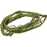 Emours Flexible Bend-A-Branch Jungle Vines Pet Habitat Decor for Lizard ,Frogs, Snakes and More Reptiles,Small, 3.2ft Long