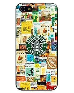 Season.C Starbucks Coffee Logo Picture Design Hard Back Case Cover for iphone 5c