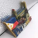 Fridge Magnet Manila Boracay Philippines 3D Resin