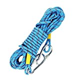 Monaco Life Outdoor Climbing Rope 2 Meters Rock Climbing Rope Escape Safety Fire Rescue Parachute Rope Hiking Accessories