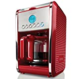 BELLA 13839 Dots Collection 12-Cup Programmable Coffee Maker, Red review
