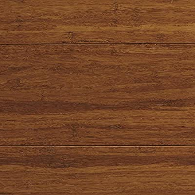 Strand Woven Antiqued Harvest 1/2 in. Thick x 5-1/8 in. Wide x 72 in. Length Solid Bamboo Flooring (23.29 sq. ft. /case)