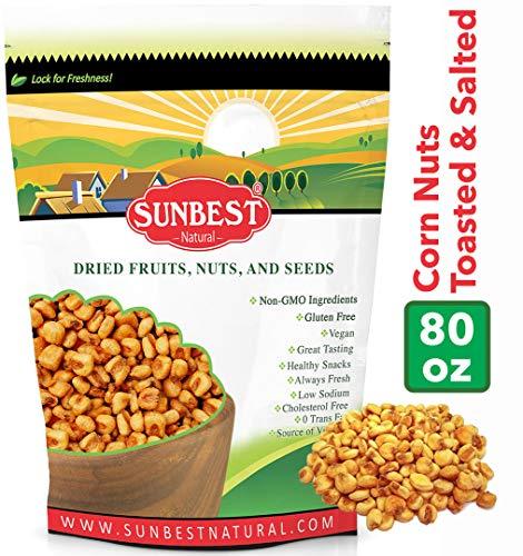 (SunBest Corn Nuts Toasted & Salted (Toasted Corn, 5 Lb))