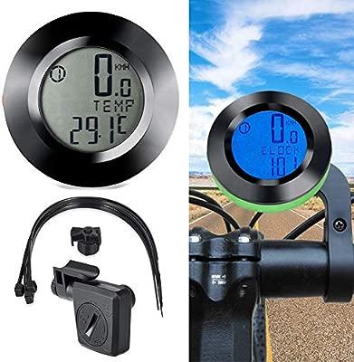 Ghair2 - Velocímetro inalámbrico para Bicicleta, Impermeable, con ...