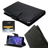 ORC Stylish Mercury Goospery Fancy Diary Wallet Flip Cover for Samsung Galaxy A5 (2016) (Black)