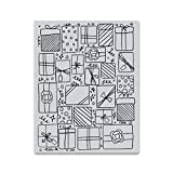 Hero Arts CG754 Cling Stamps, Presents Background, 4.25