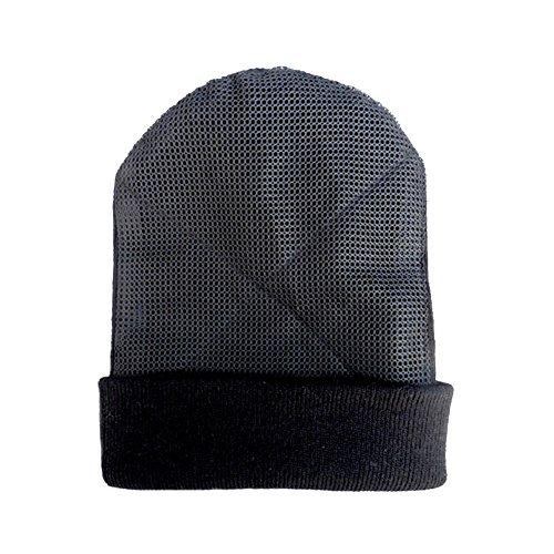 (YOUDE Mens Head Spin Beanies Bboy Hip-Hop Turn Head Dance Beanie Hat Knitted Cap (Black))